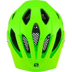 Rudy Project Protera Fietshelm, lime fluo-black matte